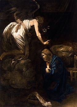 250px-Annunciation-Caravaggio